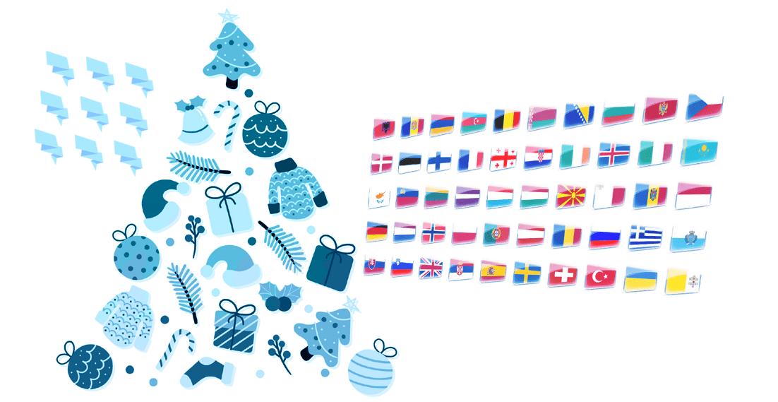 Tłumaczenia życzeń świątecznych – Wesołych Świąt i Merry Christmas!